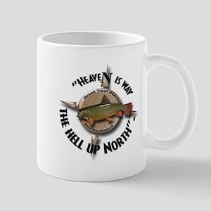Brook Trout Fishing Coffee Mug