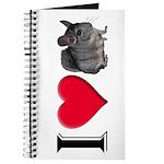 I Love Chinchillas Journal