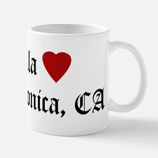 Hella Love Santa Monica Mug
