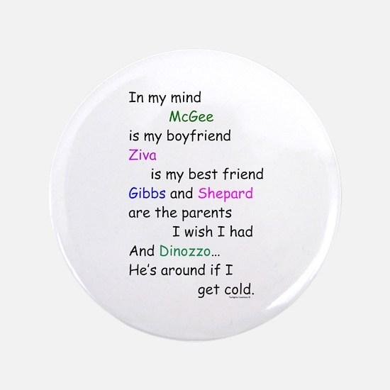 """McGee Boyfriend Ziva 3.5"""" Button"""