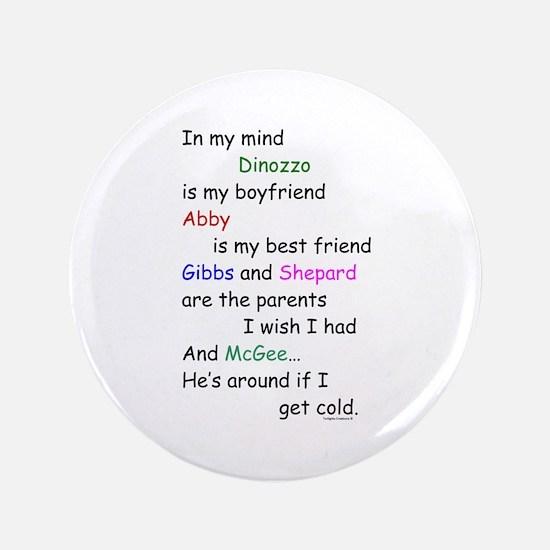 """Dinozzo Boyfriend Abby 3.5"""" Button"""