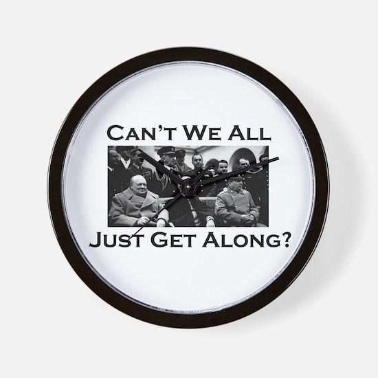 Get Along - Wall Clock