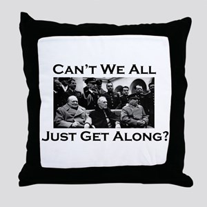 Get Along - Throw Pillow