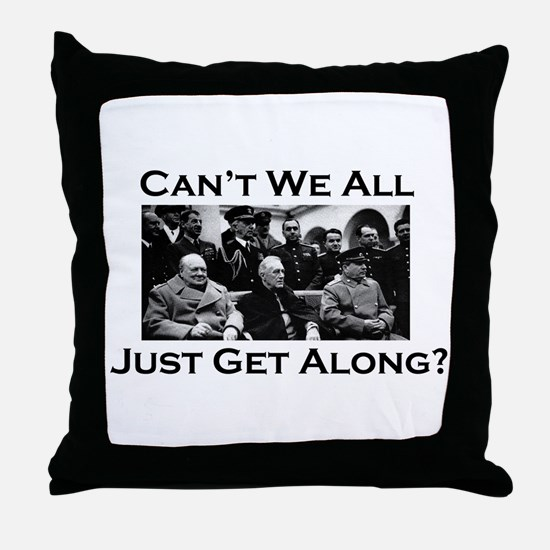 Get Along - Throw Pillow