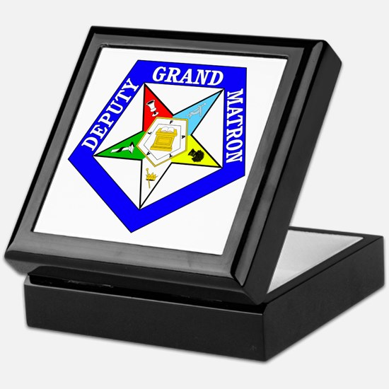 Deputy Grand Matron Keepsake Box