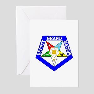 Deputy Grand Matron Greeting Cards (Pk of 20)
