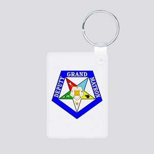Deputy Grand Matron Aluminum Photo Keychain