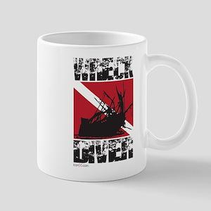 WREAK DIVER WHITE Mugs