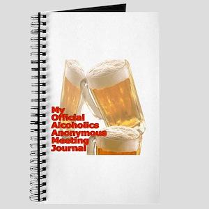 My AA meeting Journal
