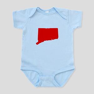 Red Connecticut Infant Bodysuit