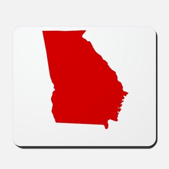 Red Georgia Mousepad