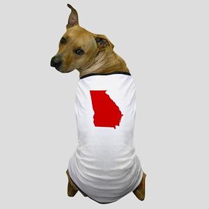Red Georgia Dog T-Shirt
