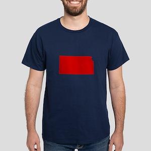 Red Kansas Dark T-Shirt