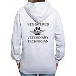 Registered Veterinary Tech Women's Zip Hoodie