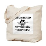 Registered Veterinary Tech Tote Bag