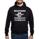 Registered Veterinary Tech Hoodie (dark)