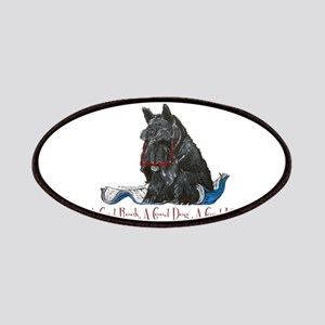 Scottish Terrier Book Patches