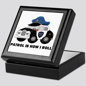 Police Car Keepsake Box