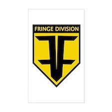 Future Fringe Division Logo Sticker (Rectangle)