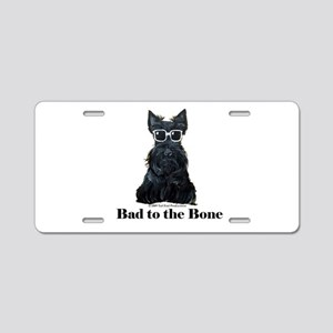 Scottie Bad to the Bone Aluminum License Plate