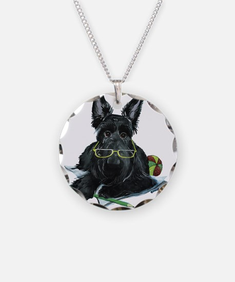 Working Scottie Necklace