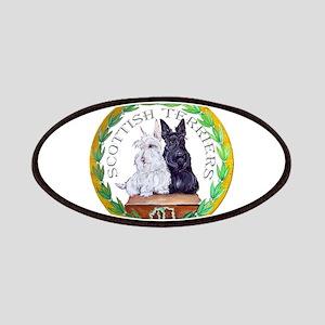 Scottish Terrier Crest Patches