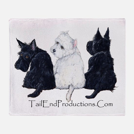 TailEndProductions.Com Throw Blanket