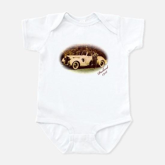 Yellow Packard Infant Bodysuit