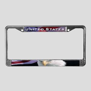 United States License Plate Frame