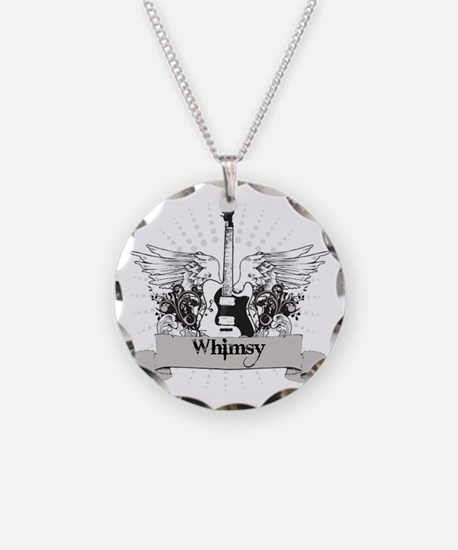 Whimsy Guitar Necklace