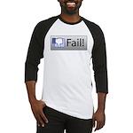 facebook fail Baseball Jersey
