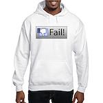facebook fail Hooded Sweatshirt