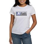 facebook fail Women's T-Shirt