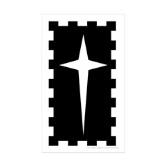 Northern Army Sticker (Rectangle 10 pk)