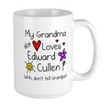 Grandma Shh Large Mug