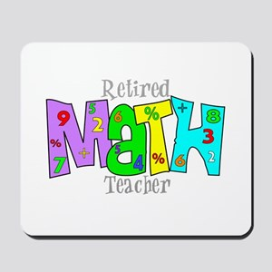 Retired Teacher II Mousepad