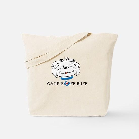 camp ruff ruff Tote Bag