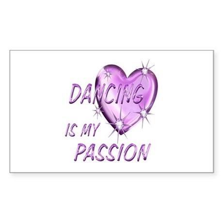 Dancing Passion Sticker (Rectangle)