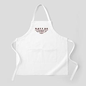 Dallas Girl BBQ Apron