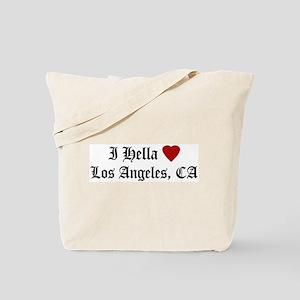 Hella Love Los Angeles Tote Bag