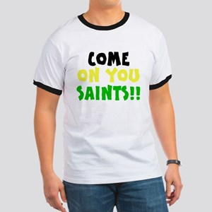 Come On You Saints Ringer T