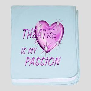 Theatre Passion baby blanket