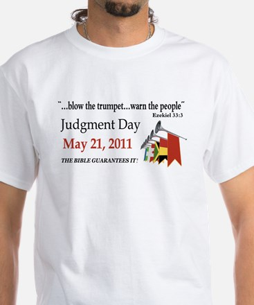 Judgement Day White T-Shirt