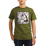 Cat Virgo Organic Men's T-Shirt (dark)