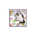 Cat Virgo 38.5 x 24.5 Wall Peel