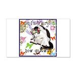 Cat Virgo 22x14 Wall Peel