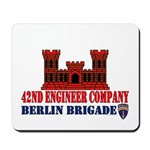 42nd Engineer Company Mousepad
