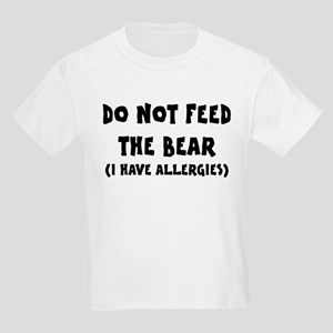 I Have Allergies Kids Light T-Shirt