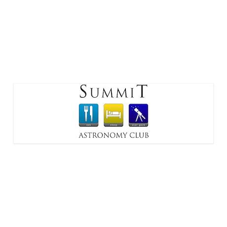 Summit Astronomy Club 42x14 Wall Peel