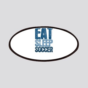 EAT SLEEP SOCCER Patches